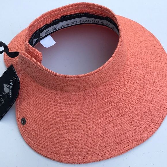 a13f7a432aa45 Peter Grimm Foldable Packable Straw Visor